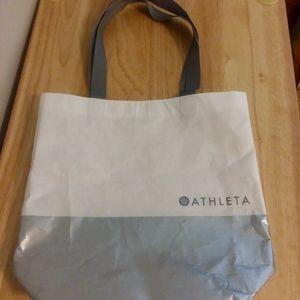 athleta shopping bag